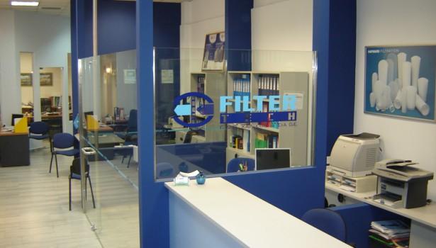 Κατασκευή καταστήματος Filtertech, Θεσσαλονίκη