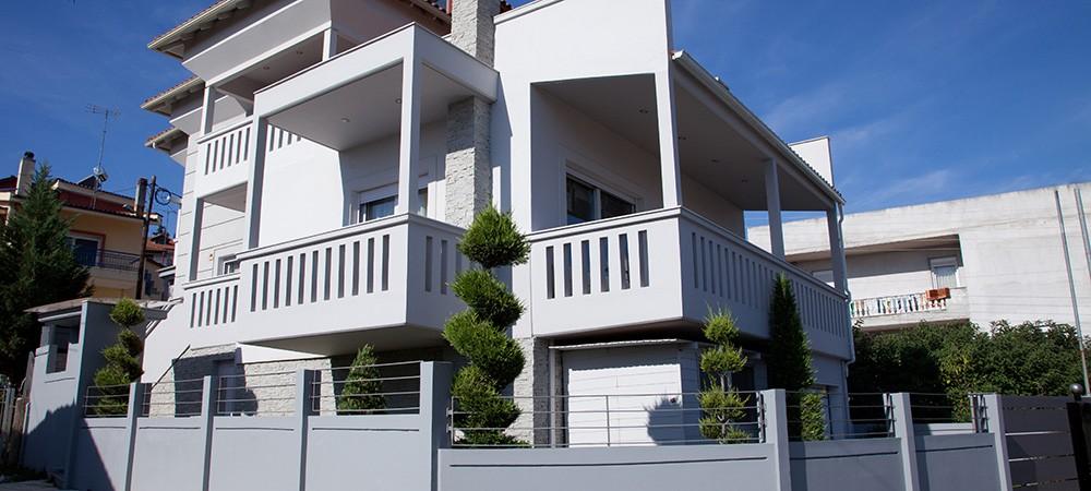 Μονοκατοικία<br/> στα Λαγυνά Θεσσαλονίκης