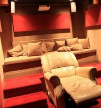 Ιδιωτικό Home Cinema σε κατοικία στο Πανόραμα Θεσσαλονίκης